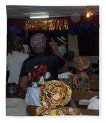 Church In Nigeria Fleece Blanket