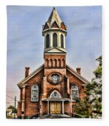 Church In Sprague Washington 2 Fleece Blanket
