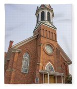 Church In Sprague Washington 3 Fleece Blanket