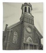 Church In Sprague Washington 4 Fleece Blanket