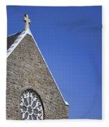 Church In Tacoma Washington 2 Fleece Blanket