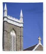 Church In Tacoma Washington 4 Fleece Blanket