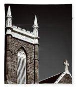 Church In Tacoma Washington 5 Fleece Blanket