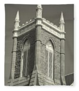 Church In Tacoma Washington Fleece Blanket