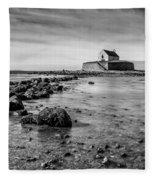 Church In The Sea Fleece Blanket