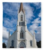 Church Of Assumption Fleece Blanket