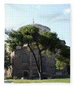 Church Of Hagia Eirene I - First Courtyard Topkapi Palace Fleece Blanket