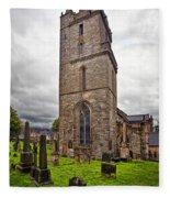 Church Of Holy Rude Fleece Blanket