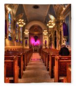 Church Of Saint Louis Fleece Blanket