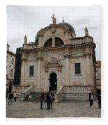Church Of St. Blasius Fleece Blanket
