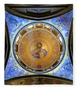 Church Of The Holy Sepulchre Catholicon Fleece Blanket