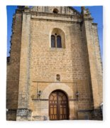 Church Of The Holy Spirit In Spain Fleece Blanket