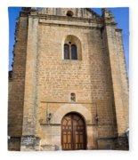 Church Of The Holy Spirit In Spain Fleece Blanket