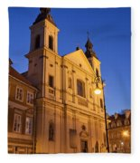 Church Of The Holy Spirit In Warsaw Fleece Blanket