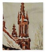 Church Fleece Blanket
