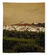 Church On The Hill - Andalusia Fleece Blanket