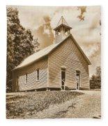 Church On The Hill Fleece Blanket