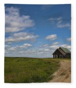 Church On The Plains Fleece Blanket