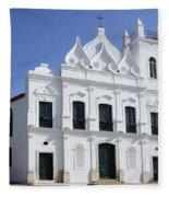 Church Sao Luis Brazil Fleece Blanket