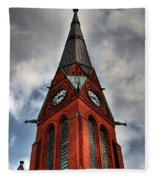 Church Spire Hdr Fleece Blanket