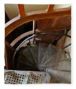 Church Stairs Fleece Blanket