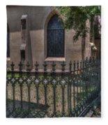 Church Yard Fleece Blanket