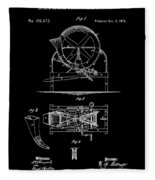 Cider Mill Patent Fleece Blanket