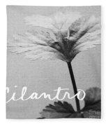 Cilantro Fleece Blanket