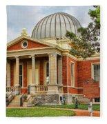 Cincinnati Observatory 0053 Fleece Blanket