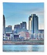 Cincinnati Panorama Fleece Blanket