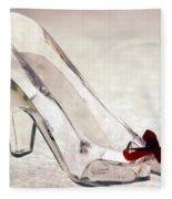 Cinderella's Slipper Fleece Blanket