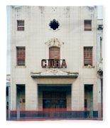 Cinema Cuba Fleece Blanket