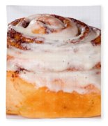 Cinnamon Bun  Fleece Blanket