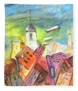 Cinque Terre 03 Fleece Blanket