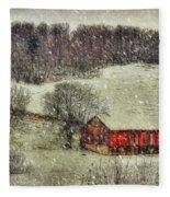 Circa 1855 Fleece Blanket
