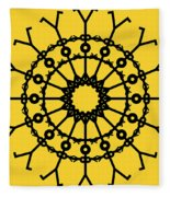 Circle 2 Icon Fleece Blanket