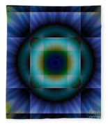 Circle Square Fleece Blanket