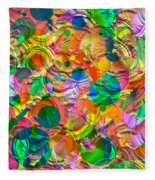 Circles Fleece Blanket