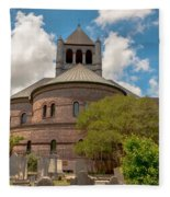 Circular Congregational Church  Fleece Blanket
