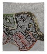Circus Elephant Fleece Blanket