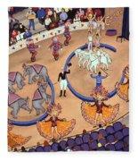 Circus Ladies Fleece Blanket