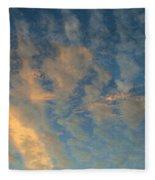 Cirrocumulus Morning Fleece Blanket