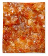 Citrine Fleece Blanket
