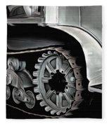 Citroen Half Track - Automobile  Fleece Blanket