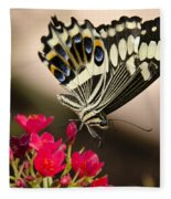 Citrus Swallowtail  Fleece Blanket