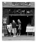 City - Baltimore Md - Tag Galleries  Fleece Blanket