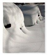 City Blizzard Fleece Blanket