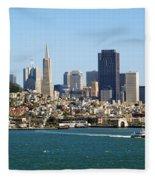 City By The Bay Fleece Blanket