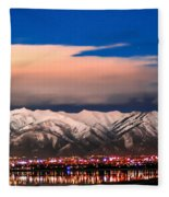 City Electric Fleece Blanket