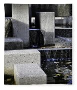 City Fountain Fleece Blanket